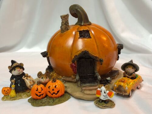 Pumpkin House #3 for Wee Forest Folk WFF not Included