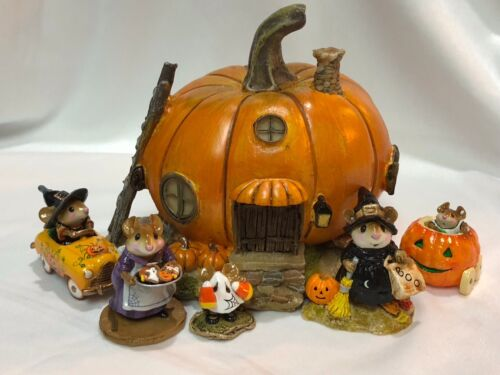 Pumpkin House #1 for Wee Forest Folk WFF not Included