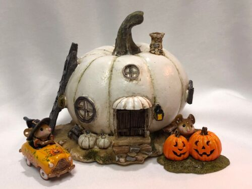 White Pumpkin House for Wee Forest Folk WFF not Included