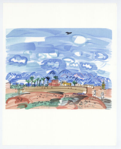 Raoul Dufy lithograph printed by Mourlot  6878913