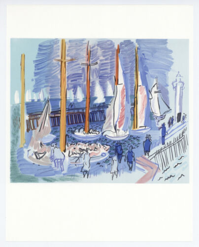 Raoul Dufy lithograph printed by Mourlot  6878914