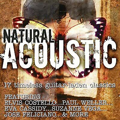 Natural Acoustic: 17 Timeless Guitar-Laden Classics, Various Artists, Used; Good