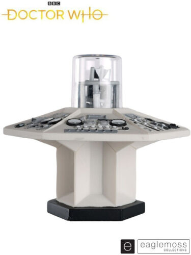 Eaglemoss Doctor Who The First Doctor Tardis Console Black and White Exclusive