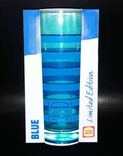 Limited Edition Hungry Jack's Summer Glass - Blue