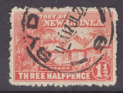 Territory of New Guinea 1½d huts with SYDNEY CDS