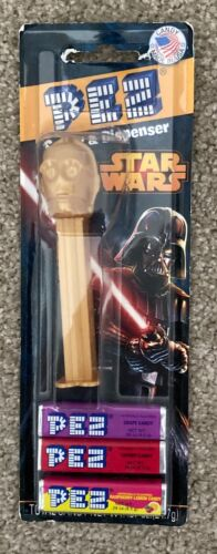 """Pez Candy & Dispenser """"Star Wars"""" C3P0 - 2013 - not opened"""