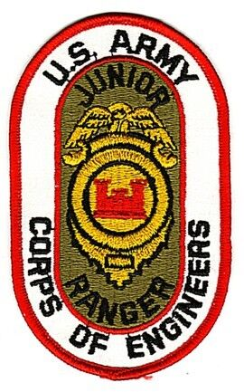 US ARMY CORPS OF ENGINEERS JUNIOR RANGER PATCHPatches - 104015
