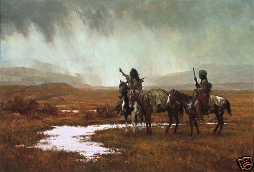 """""""SPIRIT OF THE RAINMAKER"""" LIMITED EDITION PRINT BY HOWARD TERPNING"""