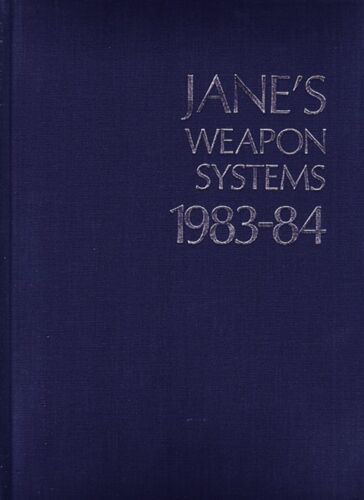 1983-84 JANE'S WEAPONS SYSTEMS REFERENCE BOOKOriginal Period Items - 13983