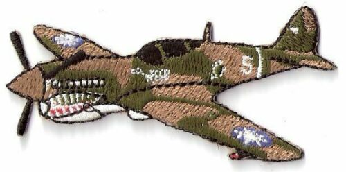 Flying Tigers P-40 Warhawk WWII Fighter Plane PatchAir Force - 66528