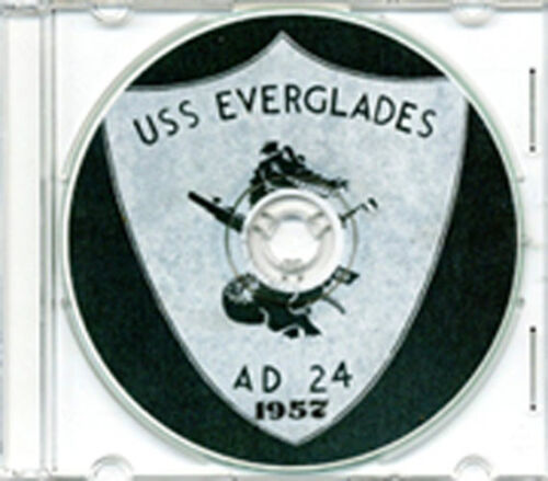 USS Everglades AD 24 MED CRUISE BOOK Log 1957 CDReproductions - 156443