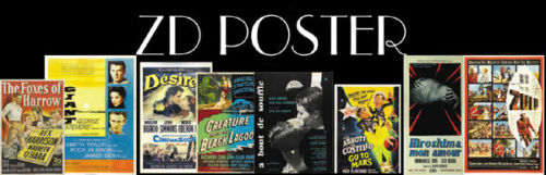 Any 56 vintage mini posters reprint  of your choice