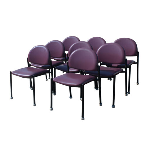 Vintage Purple Bola Ron Kemnitzer Side Chair (MR11478)