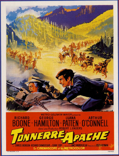 A thunder of drums Richard Boone Hamilton movie poster print