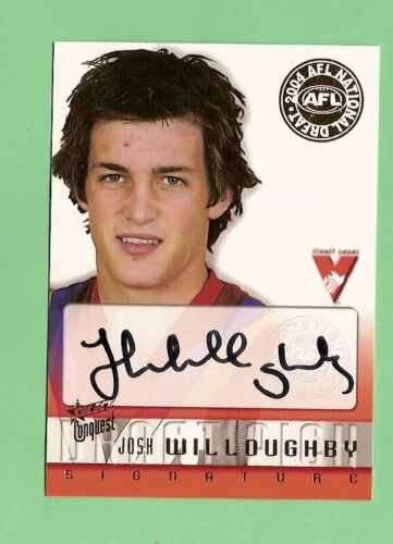 2004 SELECT CONQUEST AFL CARD  - DS16 JOSH WILLOUGHBY, SYDNEY SWANSAustralian Rules (AFL) Cards - 166107