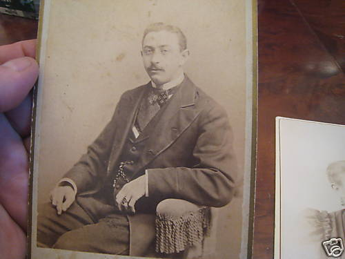 3 1870s German Solider Germany War CDV Photo