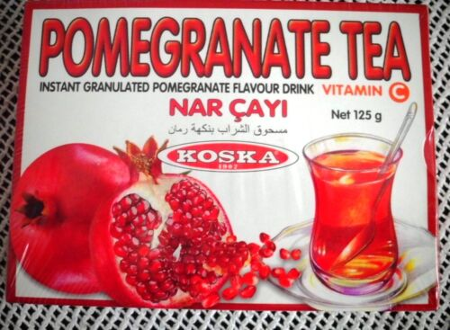 Turkish Traditional PomegranateTea Instant Granulated Koska Granatapfel Tee Nar