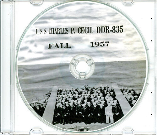 USS Charles P Cecil DDR 835 1957 Cruise Book CDReproductions - 156443