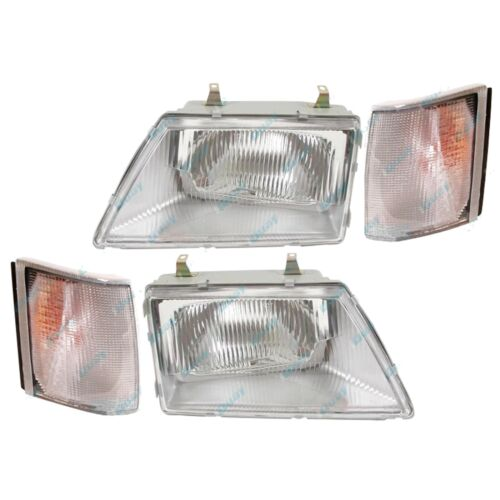 Holden Commodore '81-'86 VH VK Headlights and Indicator Set L+R Lamps Lights
