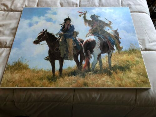 """""""THE TROPHY""""  LIMITED EDITION HOWARD TERPNING CANVAS PRINT"""