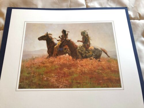 SHOSHONIS LIMITED EDITION HOWARD TERPNING  PRINT