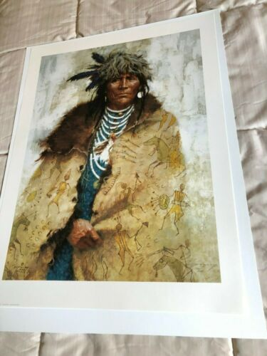 TALKING ROBE LIMITED EDITION PRINT BY HOWARD TERPNING