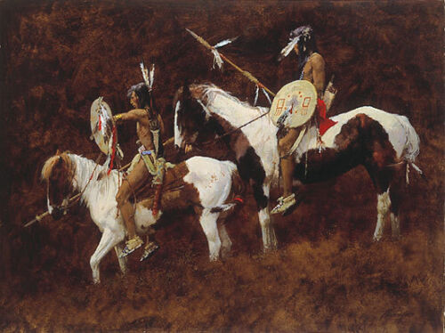 PAINTS LIMITED EDITION PRINT BY HOWARD TERPNING