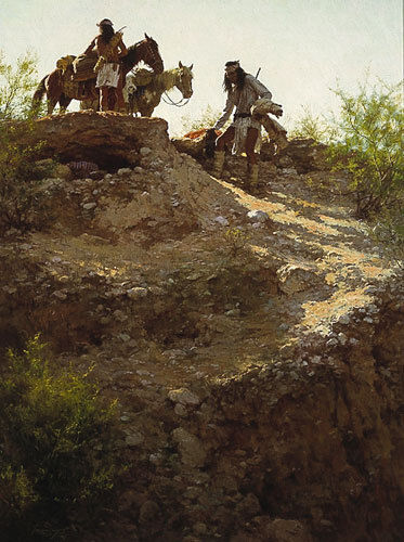 """""""THE CACHE"""" LIMITED EDITION PRINT BY HOWARD TERPNING"""