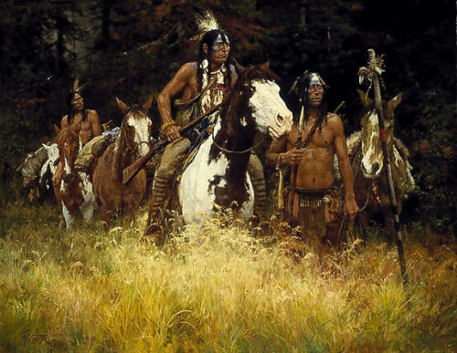 """""""THE WARNING"""" LIMITED EDITION PRINT BY HOWARD TERPNING"""