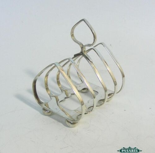 George V Sterling Silver Toast Rack Joseph Rodgers & Sons Sheffield England 1931
