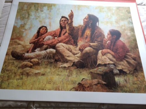 """""""THE STORYTELLER"""" LIMITED EDITION PRINT BY HOWARD TERPNING"""