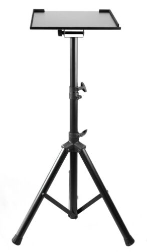 Tripod Stand For Notebook / Laptop Projector / Adjustable Height & Tilt Tray