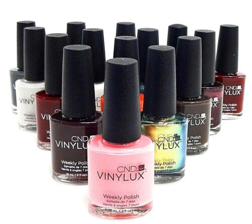 CND Creative VINYLUX Weekly Nail Polish  Colors of your choice .5oz/15mL A to O