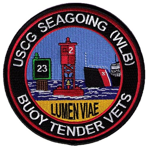 Seagoing WLB Buoytender Vets Veterans W5475 USCG Coast Guard patch  Coast Guard - 66530