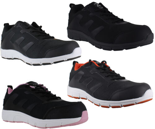 Mens/Womens Groundwork Lightweight Steel Toe Safety Shoes Trainers Sizes 3 to 13