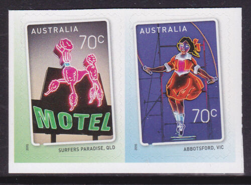 2015 Sign of The Times - Pair of Booklet Stamps