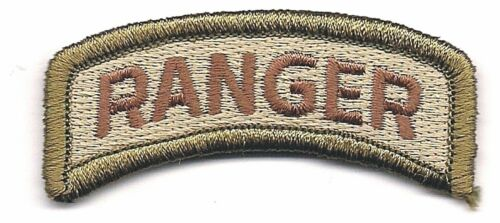 """2 1/4"""" Multicam US Army Ranger Tab Patch VELCRO® BRAND Hook Fastener CompatibleArmy - 48824"""