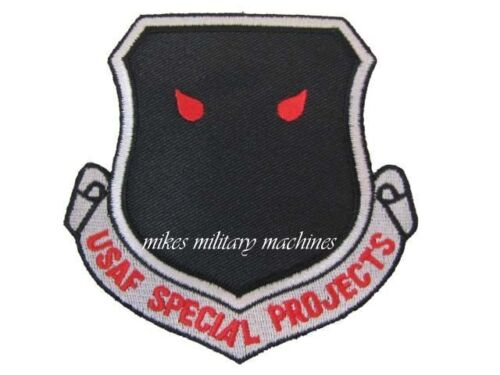 Black Ops Area 51 USAF Intelligence Special Projects NRO A Division Patch NewAir Force - 66528