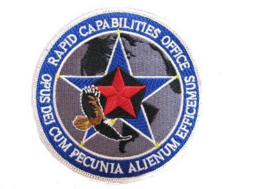 USAF Black Ops Area 51 Rapid Capabilities Office Dept of Defense Air Force PatchAir Force - 66528