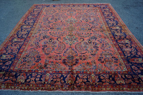 ANTIQUE AMARICAN  P....  SAROUK MOHAJERAN  RUG 10X12FT  CIR 1900