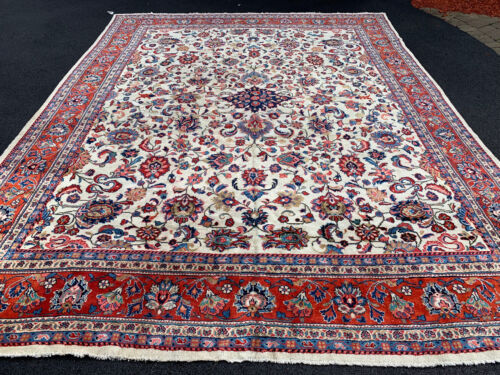 ANTIQUE P.....N MAHALL RUG 10x14ft ca1920