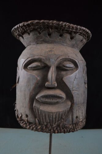44409 Antique Helmet mask the Igbo Nigeria Africa