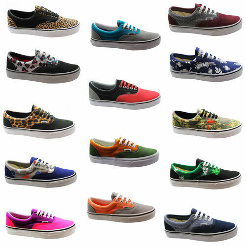 Vans Off The Wall Era MLX 2 Tone Tropicoco Unisex Casual Lace Canvas Trainers