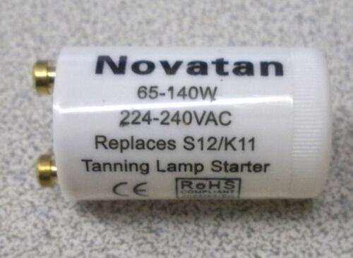 25 Tanning Bed Starter 65-140 watt K11 S12 REPLACES Philips or Cosmedico