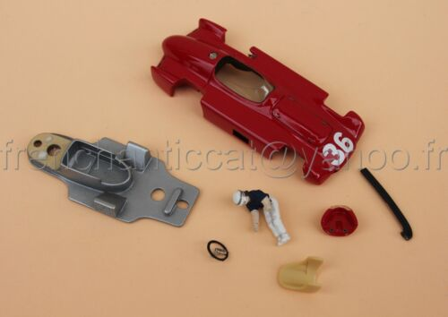 OR Voiture Maserati 250 F N°36 Fangiocollector rouge 1/43 Heco modeles