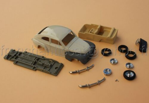 SV voiture 1/43 VOLVO PV544  collector Nikki models Heco miniatures resine blanc