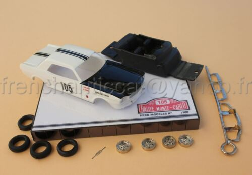 TK Voiture Ford Mustang  monte carlo 1967  N°105 collector 1/43 Heco miniatures