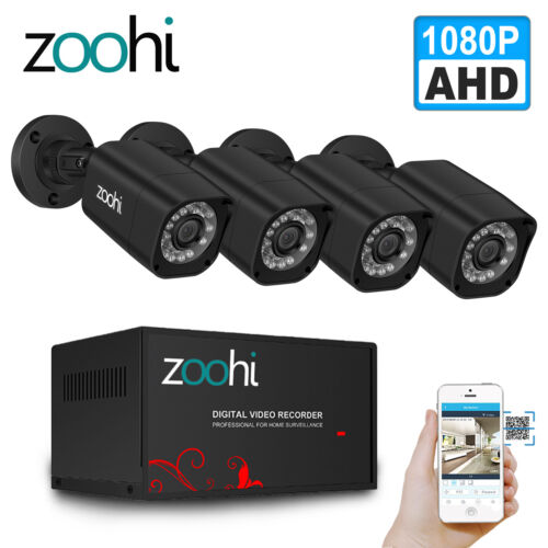Anran 8CH AHD 720P CCTV Camera Security System 1080N Outdoor IR Night Vision DVR
