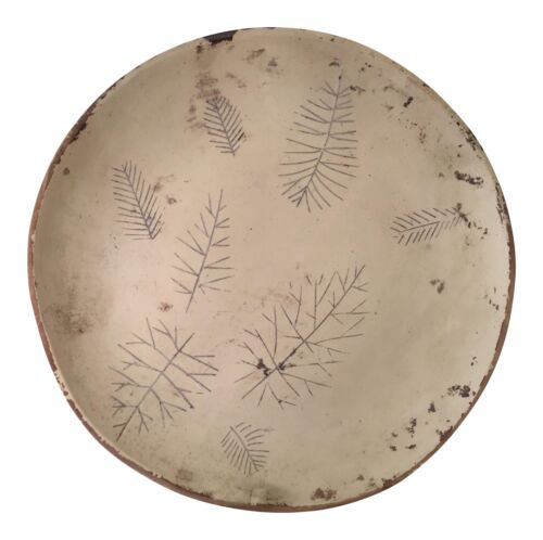 Rare Orig Sascha Brastoff Unfired Modernist Snowflake Plate Artist's Collection