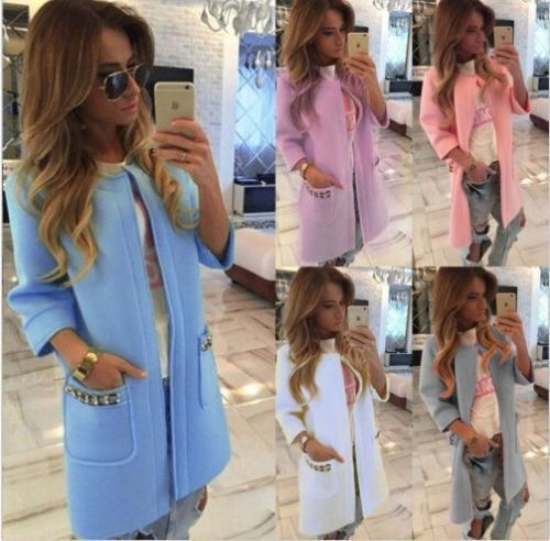 Women's Winter Warm Parka Overcoat Trench Slim Coat Long Tops Jacket Outwear new